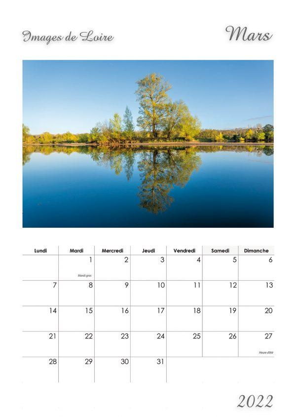 Calendrier Photographies de la Loire -JF SOUCHARD